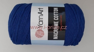 Macrame Cotton 772, modrá