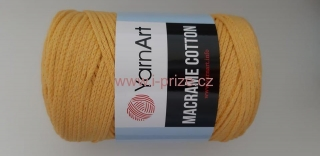 Macrame Cotton 764, žlutá