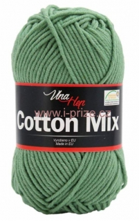 Cotton mix 8135, šedozelená