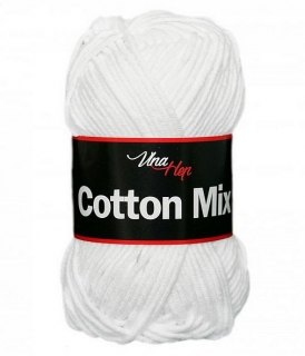 Cotton mix 8002, bílá